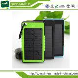 Waterproof Real Capacity 8000mAh Solar Power Bank Charger
