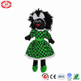 Daily Maid with Green Dressing Stuffed Cute Golliwog Doll
