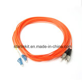 LC to FC Multimode Mode Fiber Optic Patch Cord