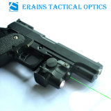 Sub Compact Glock and Full Size Handgun Fittable Aluminium Tactical Pistol 180 Lumens LED Flashlight with Green Laser Sight