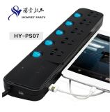 5 Ways Universal Power Extension Strip with USB Charger (HY-PS07)