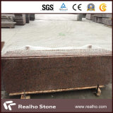 Polished G562 Maple Red Granite Slab for Counntertops and Stairs