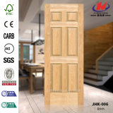 Natural Brich Veneer HDF/MDF Door Skin (JHK-006)