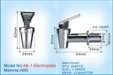 Electroplate Plastic Tap for Plastic Water Dispenser A8-1 Electroplate