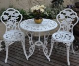 Garden Rose 3PC Bistro Sets Cast Aluminum Furniture