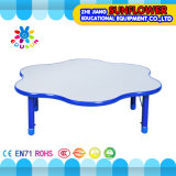 Preschool Furniture Kids Wooden Table, Lifting Table \Plastic Student Table (XYH12187-6)
