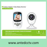 Night Vision Color Wireless Digital Video Baby Monitor, Electronic Babysitter Monitor with 2.4 Inch LCD TFT Screen