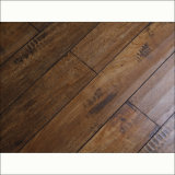 Classical Style Rustic Handscraped HDF Laminate Flooring (V-groove)