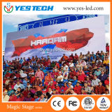 Advertising Outdoor Installation LED Video Display Curtain