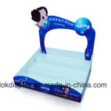 High Quality Printed Cardboard Countertop Display Stands, POS Display Stands