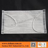Disposable 17.5*9.5cm 4-Ply Non-Woven Active Carbon 50GSM Facemask
