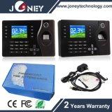 Biometric Fingerprint 125kHz Card Reader Time Attendance Clock TCP/IP USB