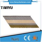 2.8X64mm UK Market Ring Galvanised Paper Strip Nails
