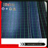 20s +150d+40d Blue and Green Check Patern Knitting Denim Fabric Stored Sale