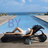 Outdoor European Style PE Rattan Leisure Hotel Garden Swimming Pool Beach Loungers