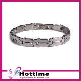 Top Quality Custom Logo Stainless Steel Cuff Bangle Bracelet (CP-JS-BL-175)