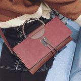 New Metal Handle Hand Bag Ladies Messenger Bag Hcy-3153