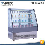European Style High Quality Glass Cake Deli Showcase Cooler with Ce, CB, Saso