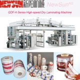 Qdf-a Series High-Speed PVC Film Dry Lamination Machinery