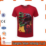 Big EU/Us Size High Quality 100%Cotton Custom T-Shirt for Men