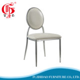 Hot Selling Royal Sliver Stainless Steel Chairs with PU Leather