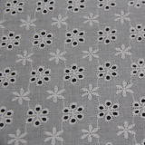 Cotton Embroidery Lace Fabric for Clothes