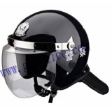 Police Safety Anti Riot Helmet with Visor