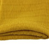 100% Polyester Crepe Crinkle Fabric for Garment