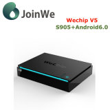 Wechip V5 Android 6.0 Set Top Box Amlogic S905X Ott TV Box
