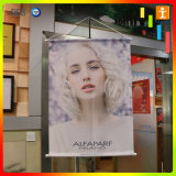 Pole Pocket Advertising Posters with Hook