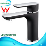 European Black and Chrome Two Tones Luxury Bathroom Water Tap