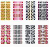 Fashionable Temporary Water Transfer Nail Sticker Art Sticker