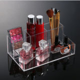 Acrylic Clear Cosmetic Organizer Case Makeup Storage Box Holder