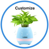 Colorful Light Bluetooth Speaker Paying Smart Plant Music Flowerpot