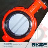 Wafer Type Nylon Lined Disc Concentric Butterfly Valve