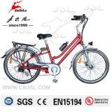 "26"" 36V Lithium Battery City Electric Bike For Lady (JSL038B-1)"