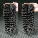 Bliss Virgin Hair Natural Color Brazilian Hair Lace Closure Curly