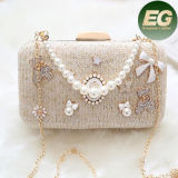 Trendy Pearl Beaded Bridal Bags Clutch Party Wedding Evening Bags Eb795