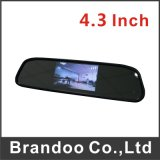 Car Rear Mirror LCD Monitor, Used for Taxi, Prive Car, for Rear Driving, Model Bd-7143