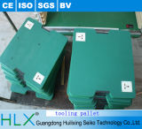 Green Wooden Tooling Pallet for Assembly Line