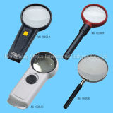 Illuminated Magnifier and Reading Magnifier