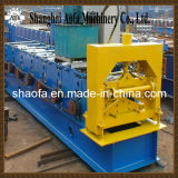 Hydraulic Cutting System Color Steel Roof Ridge Cap Forming Machine