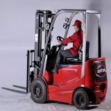 2.5tons Four Wheels Electric Counterbalanced Forklift (with CE)