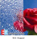 Diamond Pattern Glass/Figured Glass/Rolled Glass/Art Glass/Decorative Glass