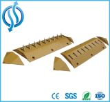 Yellow Iron Traffic Car Spike Barrier for Roadway Safety