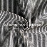 Linen/Cotton Yarn Dyed Stripe Garment Fabric (QF13-0752)