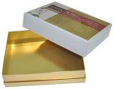 High Qualtiy Elegant Golden Colour Gift Boxes with Lids (YY--B0216)