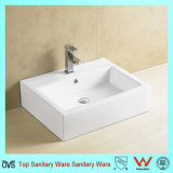Ovs Bathroom Good Quality Ceramic Sink for Sanitaryware