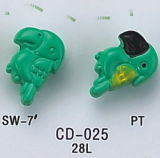 Animal Shape Children Button (CD-023~CD-028)