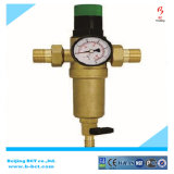 Brass Body Water Filter NBR Seal Ss Screen